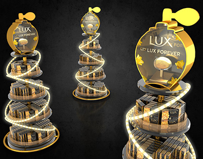 LUX Gold Launch OCD Display 2019
