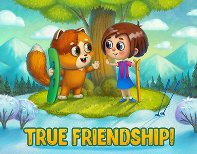 LITTLE STORIES True frendship!