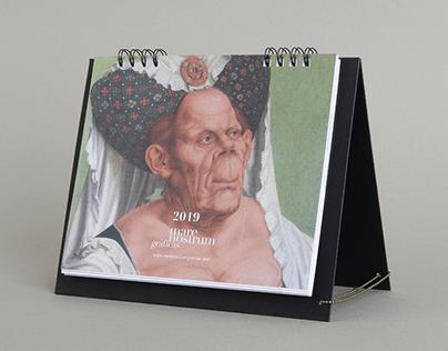 Calendario Mare Nostrum Gráficas 2019