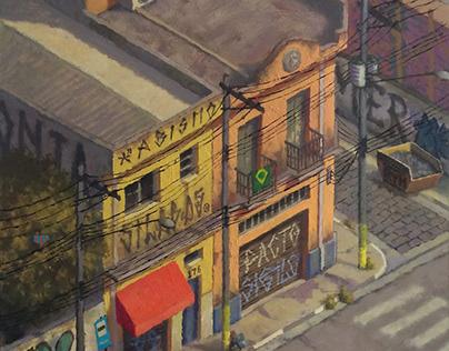 City Paintings / Pinturas da Cidade