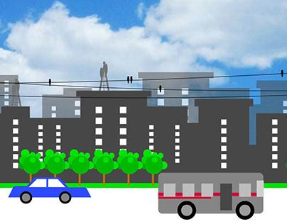 Dhaka City Design & Animation