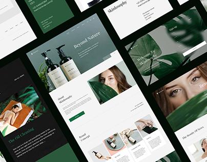 Skinlosophy Web design