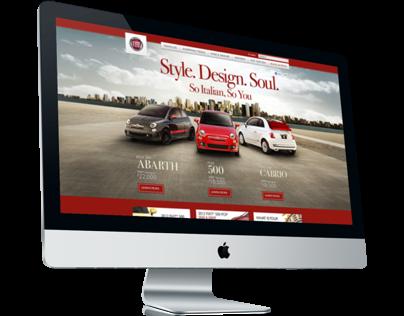 Fiatusa.com Website Design