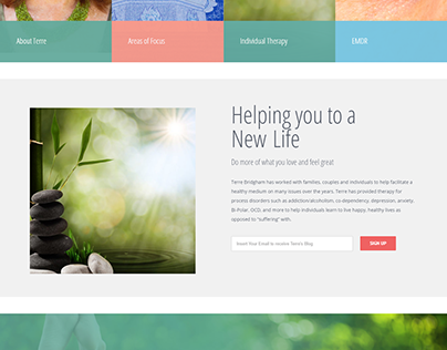 WordPress Website with avada theme.