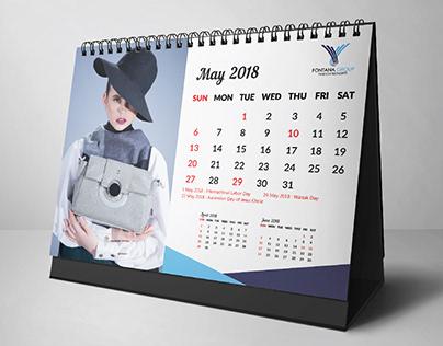 Group Fontana Calendar