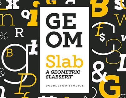 XXII Geom Slab - Font Family
