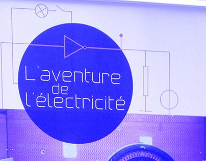 L'aventure de l'électricité, exposition espace Electra