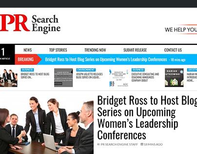 Women's Leadership Conferences Blog Series (PR)