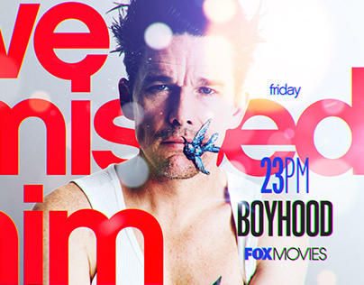 Fox Movies. Channel Branding