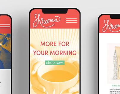Shrooma Mushroom Coffee Identity