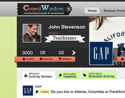 CrowdWisdom-Connecting Brands & Consumers