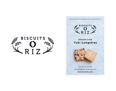 Logo &Business card (biscuit shop)