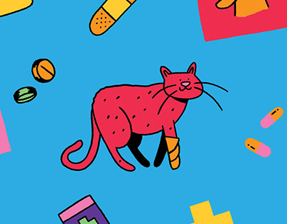 Petcare Illustrations - PETZ
