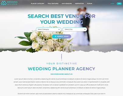 Wedding Whisper-Wedding Planners Social Portal