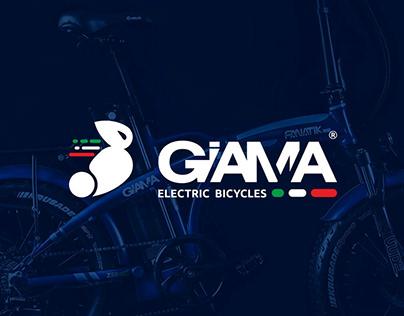 BRAND, PRODUCTS & GRAPHICS DESIGN - GIAMA BIKE
