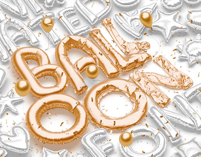 Animated Balloon Font | Side Pack
