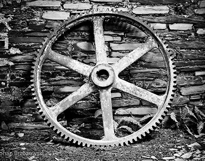 Relics of the North Wales Slate Mining Industry