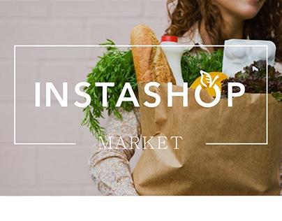 Instashop - Online Grocery Shopping Website
