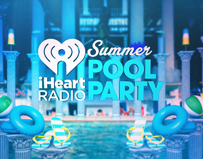 iHeart Radio Pool Party 2015 StoryBoards