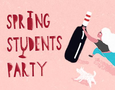 Wine School party