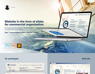 Website on slide.js