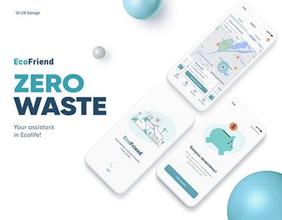 Zero Waste UX UI design