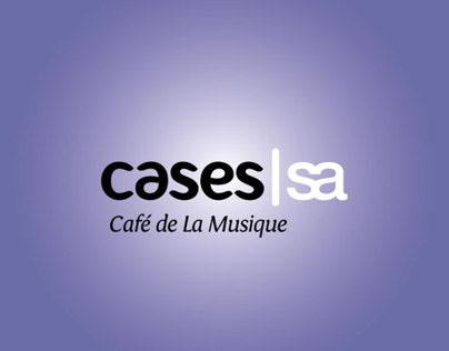 Case: Materiais Gráficos para o Café de La Musique