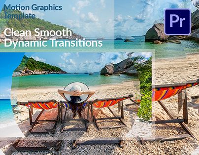 Clean Smooth Transitions Motion Graphics Template