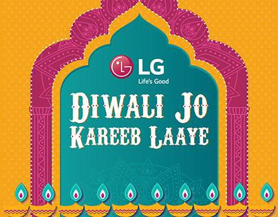 LG (Life's Good) Diwali Jo Kareeb Laaye