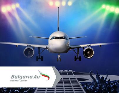 BULGARIA AIR– New Website Launch Facebook Campaign 2017