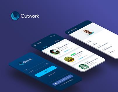 Mobile App Design - Outwork