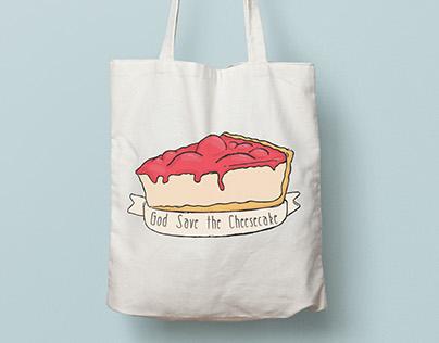 Cheesecake Illustration