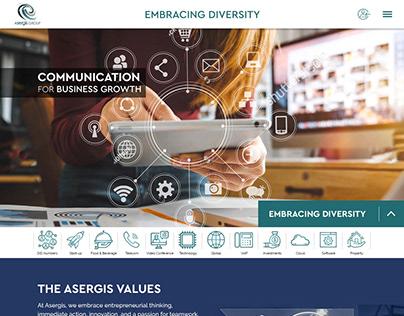 IT Telecom Website & Mobile version