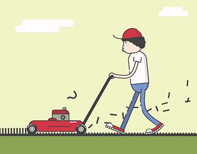 Lawn Mower Loop