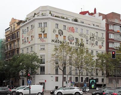 Restauración de fachada. Edificio General Pardiñas 107