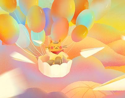 蝦條遊記系列2 | 天空