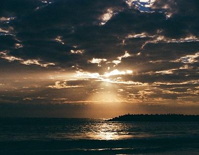 漁光島夕陽