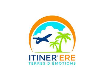 Création de logo d'une agence de voyage