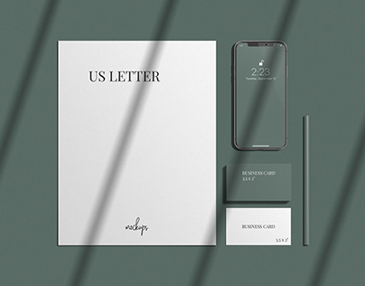 FREE STATIONERY MOCKUP AND PREMIUM SCENE CREATOR KIT