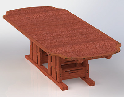 The Gamble House Conference Table