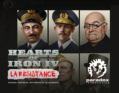 Hearts of Iron. La resistance.