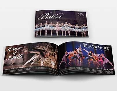 Ballet Bainbridge Island | Catalog Design