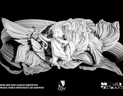 DKB 3RD MINI ALBUM Work Hard MV SET Graphicdesign