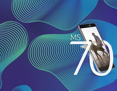 Key Art | Smartphone Multilaser - MS70 Concept