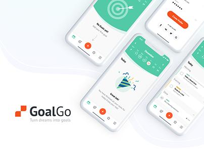 GoalGo - Goal app UI/UX case study