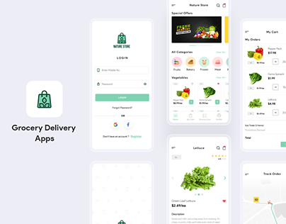 Grocery Delivery Mobile Apps