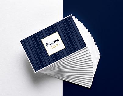 Heaven Spa - Charte graphique & Print