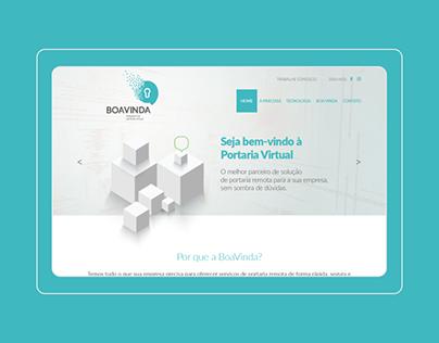 BoaVinda · WebSite · UI