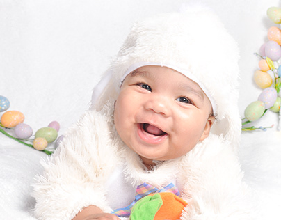 6 Months Old Easter Shoot