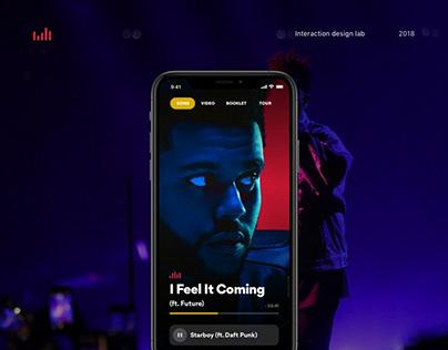 Music Album App